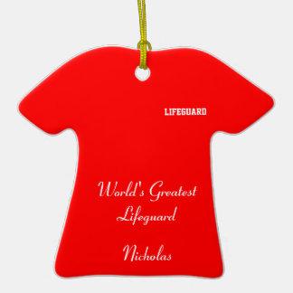 LIfeguard Christmas Ornament