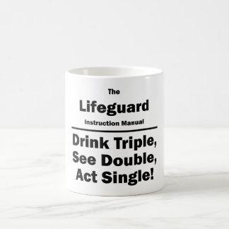 lifeguard coffee mug