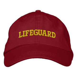 LIFEGUARD EMBROIDERED BASEBALL CAP