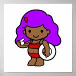 Lifeguard girl 1 poster