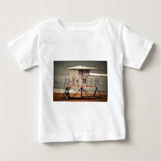 Lifeguard House Huntington Beach Baby T-Shirt