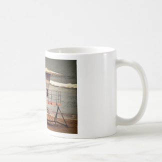Lifeguard House Huntington Beach Coffee Mug