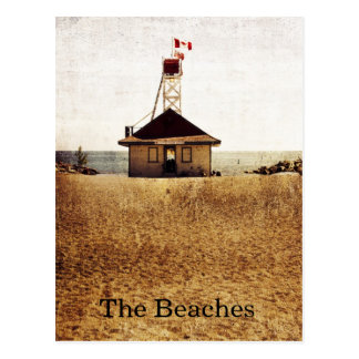 Lifeguard house, the Beaches - Toronto Postcard