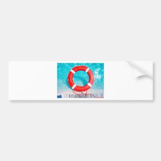 Lifeguard Lifesaver Bumper Sticker