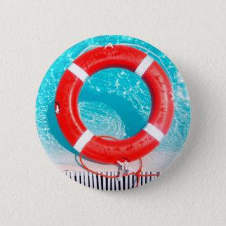 Lifeguard Lifesaver Pinback Button