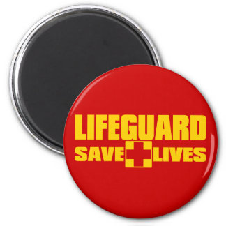 LIFEGUARD MAGNET
