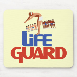 Lifeguard Mouse Pad