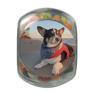 Lifeguard on Duty Glass Candy Jar