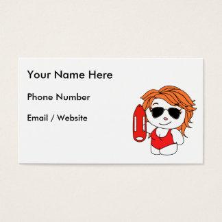 Lifeguard on the Beach Business Card