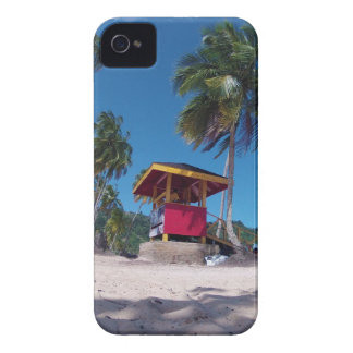 Lifeguard On The Beach iPhone 4 Case