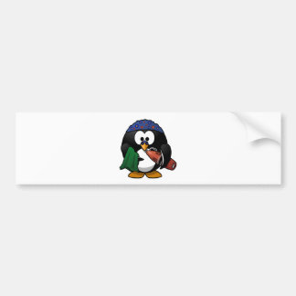 Lifeguard Penguin Bumper Stickers