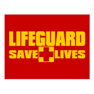 LIFEGUARD POSTCARD
