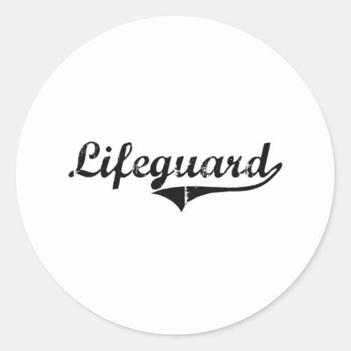Lifeguard Professional Job Sticker