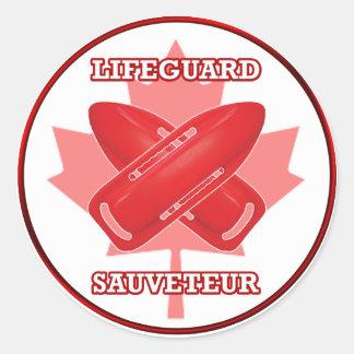 Lifeguard/Sauveteur - Sticker