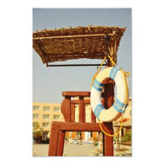 Lifeguard seat photograph