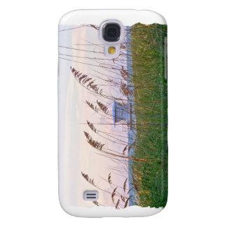 Lifeguard shack on Florida beach picture Samsung Galaxy S4 Case