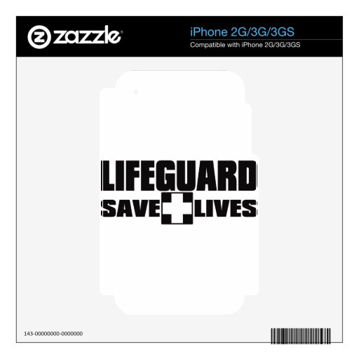 LIFEGUARD SKIN FOR THE iPhone 3