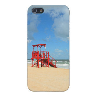 Lifeguard stand at local beach iPhone SE/5/5s cover