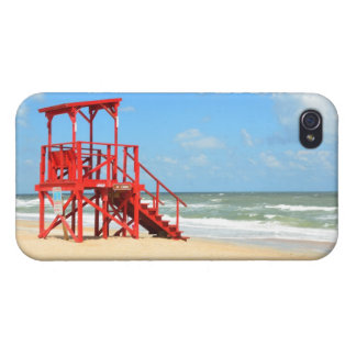Lifeguard Stand iPhone 4 Covers