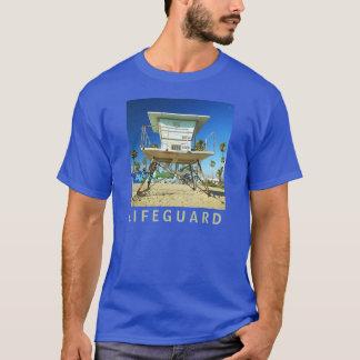 Lifeguard Stand Miami Beach Design T-shirt