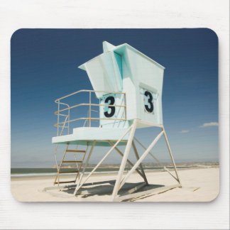 Lifeguard Stand   San Diego, Ca Mouse Pad