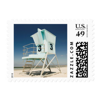 Lifeguard Stand | San Diego, Ca Stamp