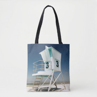 Lifeguard Stand | San Diego, Ca Tote Bag