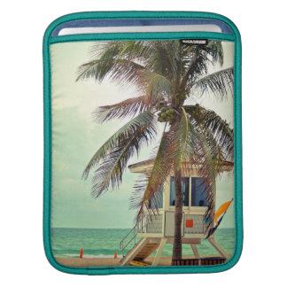 Lifeguard Station |Florida iPad Sleeves