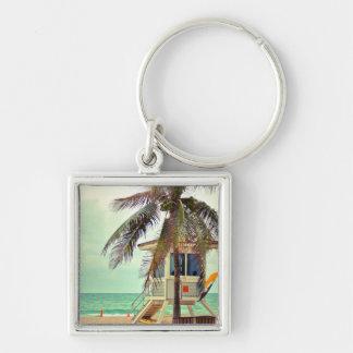 Lifeguard Station  Florida Keychain