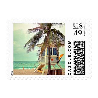 Lifeguard Station |Florida Postage