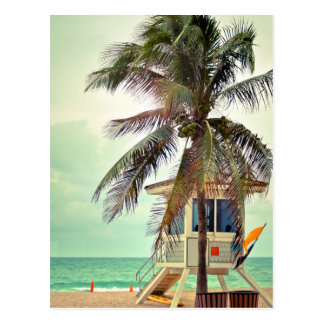 Lifeguard Station |Florida Postcard