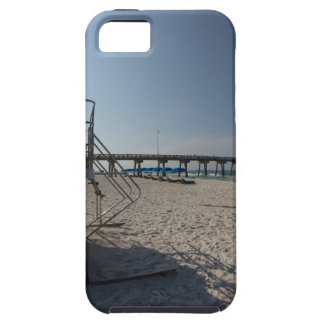 Lifeguard Tower at Panama City Beach Pier iPhone SE/5/5s Case