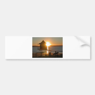 Lifeguard Tower Bumper Sticker