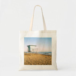Lifeguard Tower in Santa Cruz Tote Bag