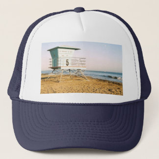 Lifeguard Tower in Santa Cruz Trucker Hat