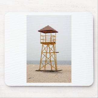 Lifeguard Tower Mouse Pad