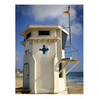 Lifeguard Tower Postcard