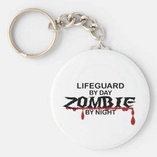 Lifeguard Zombie Keychain