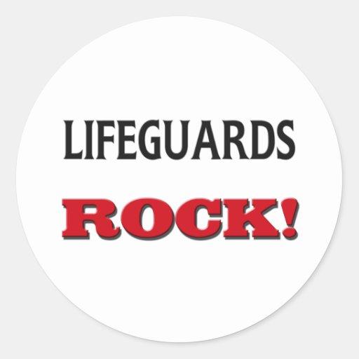 Lifeguards Rock Stickers