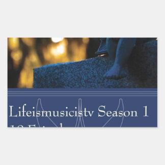 Lifeismusicistv Season 1 Format: DVD Rectangular Sticker
