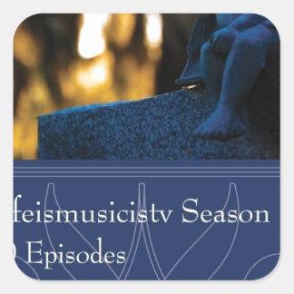 Lifeismusicistv Season 1 Format: DVD Square Sticker