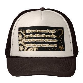 lifeisnotquote45345-altered brown trucker hat