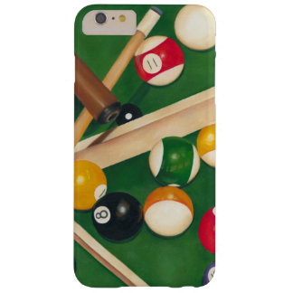 Lifelike Billiards Table with Balls and Chalk iPhone 6 Plus Case