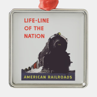 Lifeline Of The Nation 1941 Metal Ornament