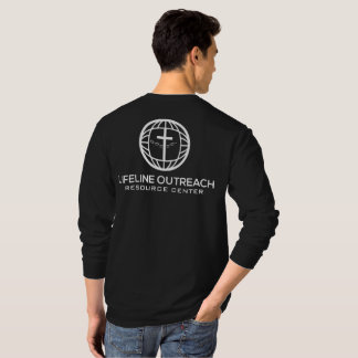 LifeLine Outreach Resource Center Black Shirt LS