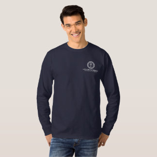 lifeLine Outreach Resource Center Blue Shirt LS