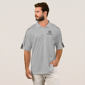 LifeLine Outreach Resource Center Gray Adidas Polo Shirt
