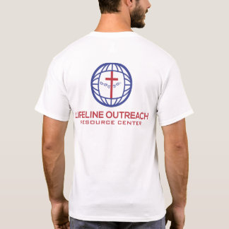 LifeLine Outreach Resource Center White Shirt
