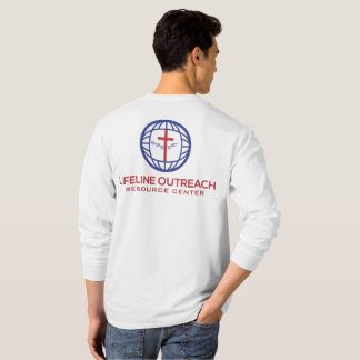 LifeLine Outreach Resource Center White Shirt LS