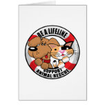 Lifeline : Support Amimal Rescue Greeting Card